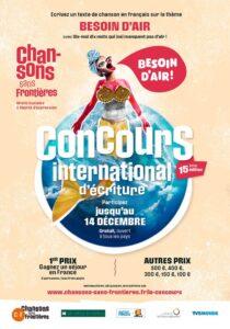 Manifesto del Concours chansons sans frontières